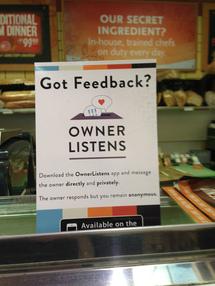 Owner Listens